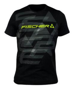 8. FISCHER T-SHIRT ISCHGL BLACK